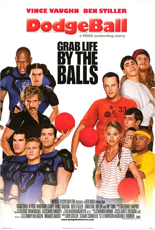 Reviews of dodgeball movie