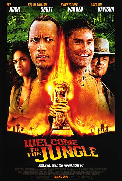 Image result for welcome to the jungle 2003 movie poster