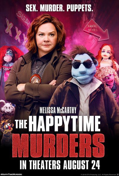 Image result for The happytime murders poster""